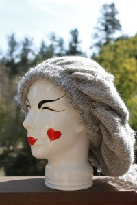 Natural Beauty - Grey Wool and Alpaca