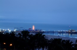 Santa Monica Pier at Dawn